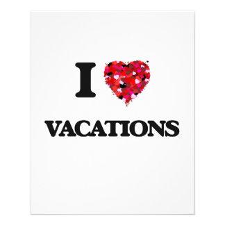 Liebe I Ferien 11,4 X 14,2 Cm Flyer