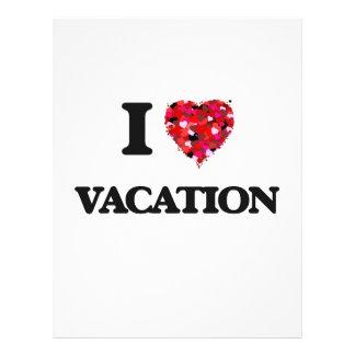 Liebe I Ferien 21,6 X 27,9 Cm Flyer