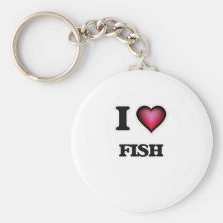 Liebe I Fische Schlüsselanhänger