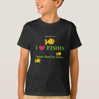 Liebe I fischt… T-Shirt