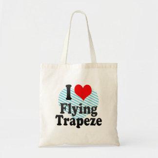Liebe I fliegender Trapeze Tragetasche
