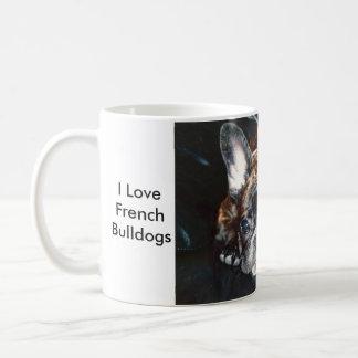 Liebe I französische Bulldoggen Kaffeetasse
