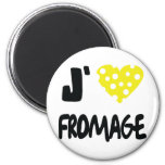 Liebe I fromage Ikone Runder Magnet 5,7 Cm