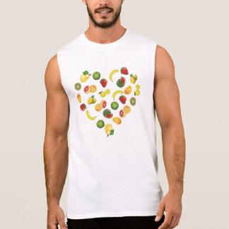 Liebe I Früchte Ärmelloses Shirt