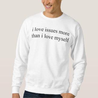 Liebe I gibt mehr als i-Liebe selbst crewneck Sweatshirt