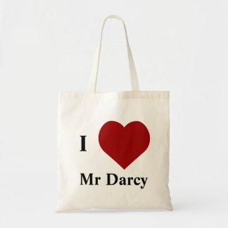 Liebe I Herr Darcy Budget Stoffbeutel