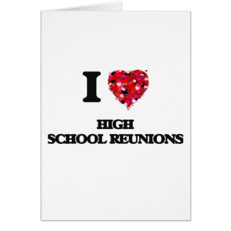 Liebe I Highschool Wiedervereinigungen Grußkarte