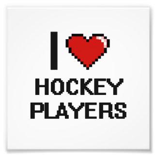 Liebe I Hockey-Spieler Kunst Photo