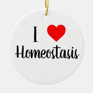 Liebe I Homeostasisverzierung Keramik Ornament