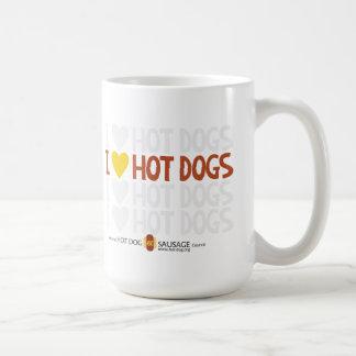 Liebe I Hotdogs 3 Kaffeetasse