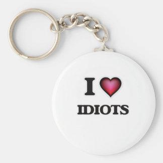 Liebe I Idioten Schlüsselanhänger