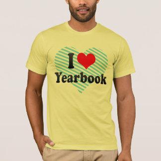 Liebe I Jahrbuch T-Shirt