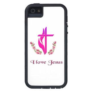 Liebe I Jesus-Telefon-Hüllen Etui Fürs iPhone 5