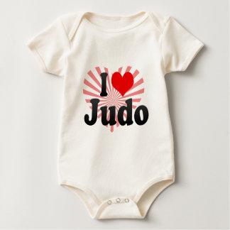 Liebe I Judo Baby Strampler
