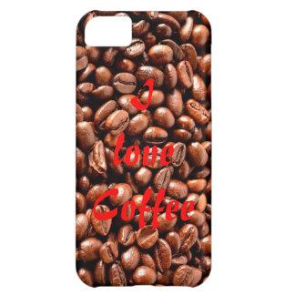 Liebe I Kaffee - iPhone 5c Fall iPhone 5C Hülle