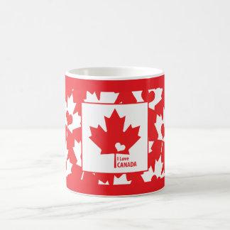 Liebe I Kanada-Ahorn-Blatt Kaffeetasse