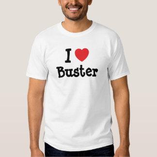 Liebe I Kerl-Herzgewohnheit personalisiert T Shirt