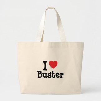 Liebe I Kerl-Herzgewohnheit personalisiert Einkaufstasche