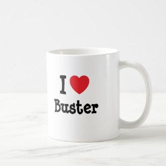 Liebe I Kerl-Herzgewohnheit personalisiert Tasse