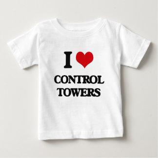 Liebe I Kontrollen-Türme Baby T-shirt