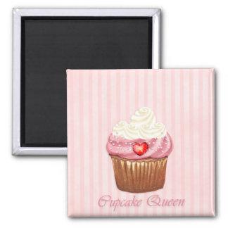 Liebe I Kuchen-Kühlschrank-Magnet Quadratischer Magnet