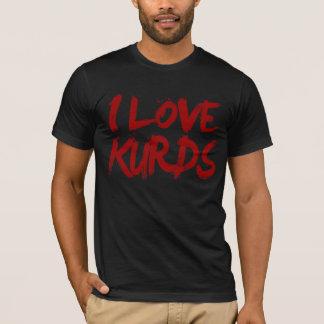 Liebe I Kurden cool T-Shirt