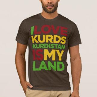 Liebe I Kurden u. Kurdistan T-Shirt