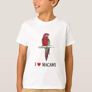 Liebe I Macaws T-Shirt