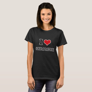 Liebe I Magermilch T-Shirt