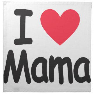 Liebe I Mamma, Mamma, Mutter Stoffserviette