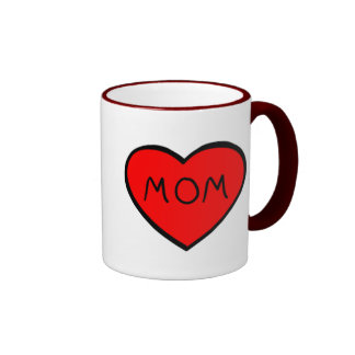 Liebe I Mamma-Tasse Ringer Tasse