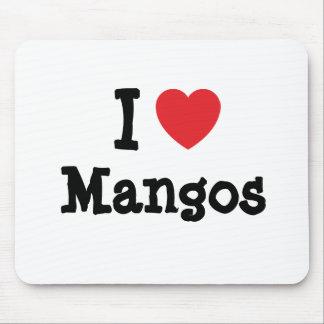 Liebe I Mango-Herz T - Shirt