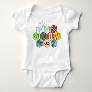Liebe I Mathe Baby Strampler