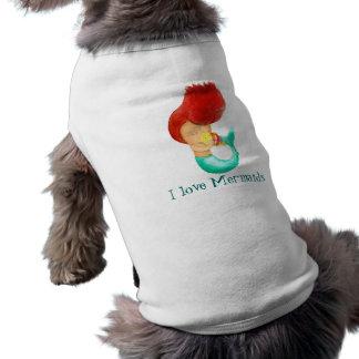 Liebe I Meerjungfrauen T-Shirt