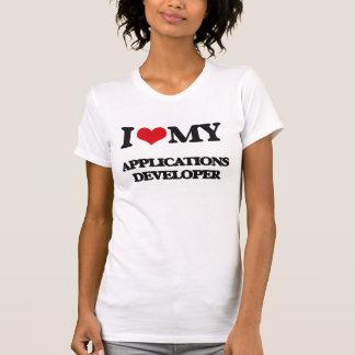 Liebe I mein Anwendungs-Entwickler Shirt