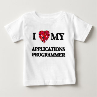 Liebe I mein Anwendungs-Programmierer Hemden