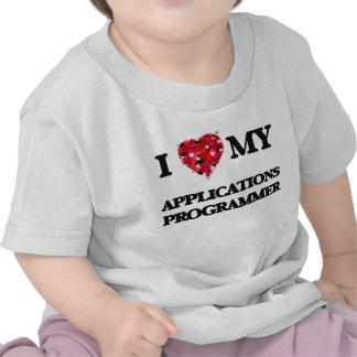 Liebe I mein Anwendungs-Programmierer Shirts