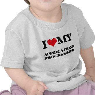 Liebe I mein Anwendungs-Programmierer Hemd