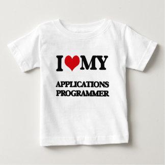 Liebe I mein Anwendungs-Programmierer Tshirt