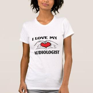 Liebe I mein Audiologe T-Shirt