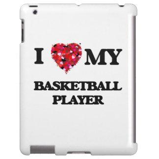 Liebe I mein Basketball-Spieler iPad Hülle
