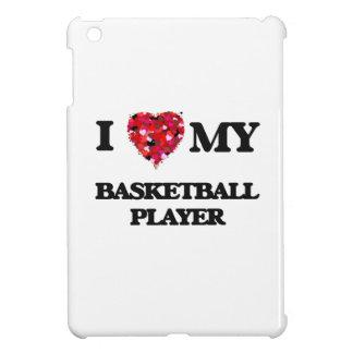 Liebe I mein Basketball-Spieler Hüllen Für iPad Mini