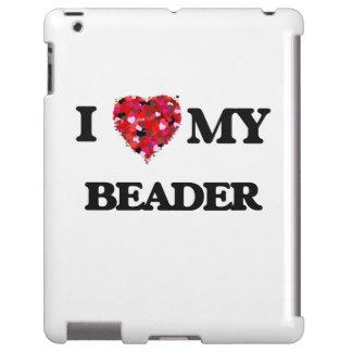 Liebe I mein Beader iPad Hülle