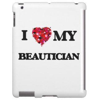 Liebe I mein Beautician iPad Hülle