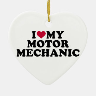 Liebe I mein Bewegungsmechaniker Keramik Ornament