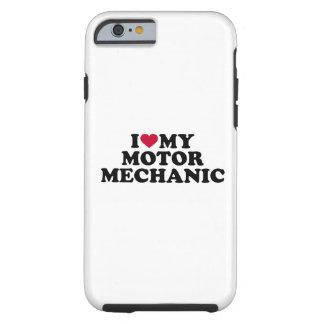Liebe I mein Bewegungsmechaniker Tough iPhone 6 Hülle