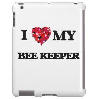 Liebe I mein Bienen-Wächter iPad Hülle
