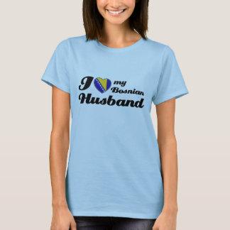 Liebe I mein bosnischer Ehemann T-Shirt