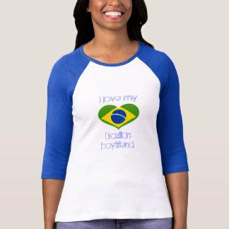Liebe I mein BRASILIANISCHER Freund T-Shirt