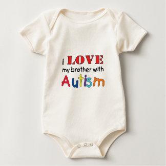 Liebe I mein Bruder mit Autismus Baby Strampler